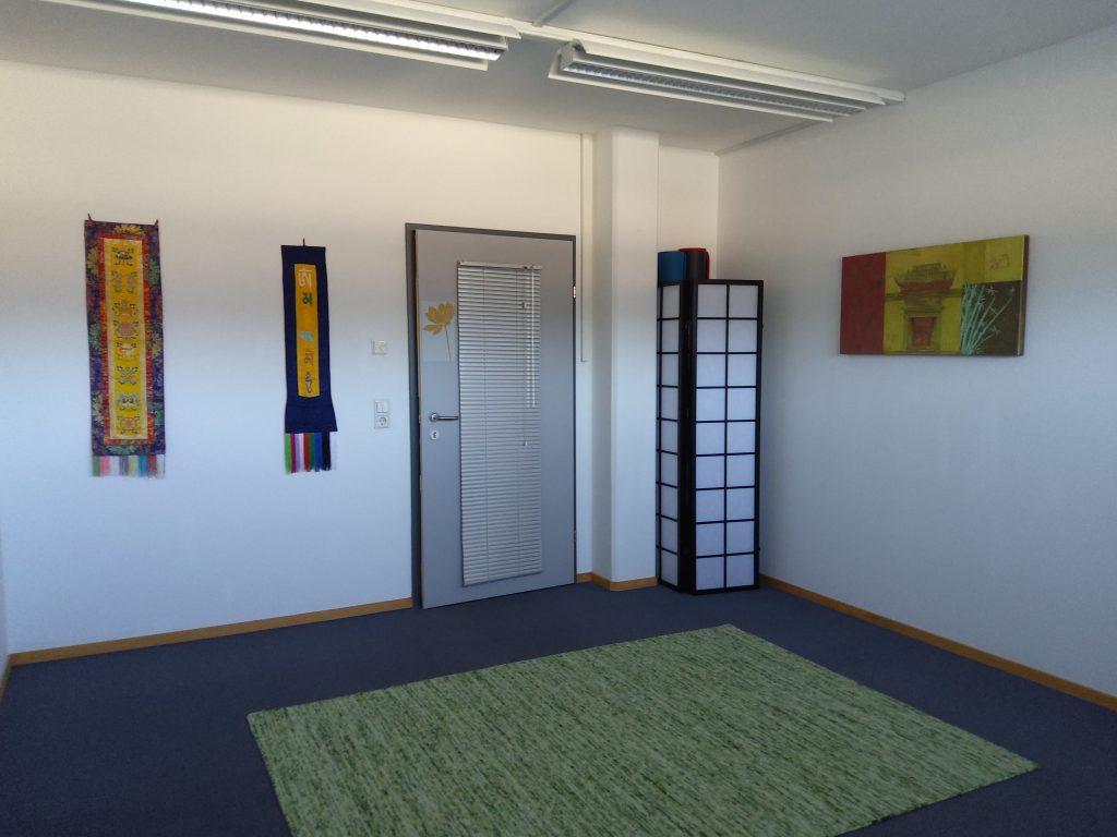 Raum für Yoga, Qi Gong, Kurse